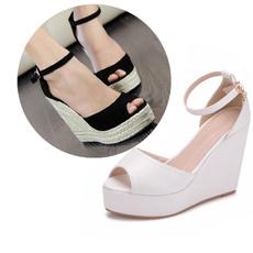 bohemia, sandalsblack, Plus Size, Women Sandals