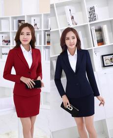 Mini, Office, Novelty, womenskirtsuit
