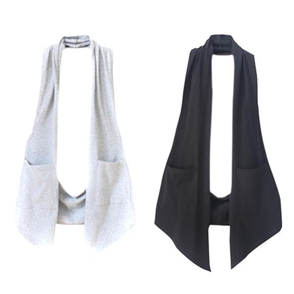 Vest, Plus Size, Halter, long dress