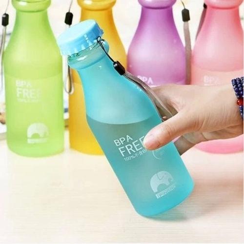 550ml unbreakable water bottle wish pln
