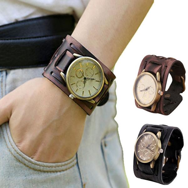 brown, quartz, Jewelry, fashion watches