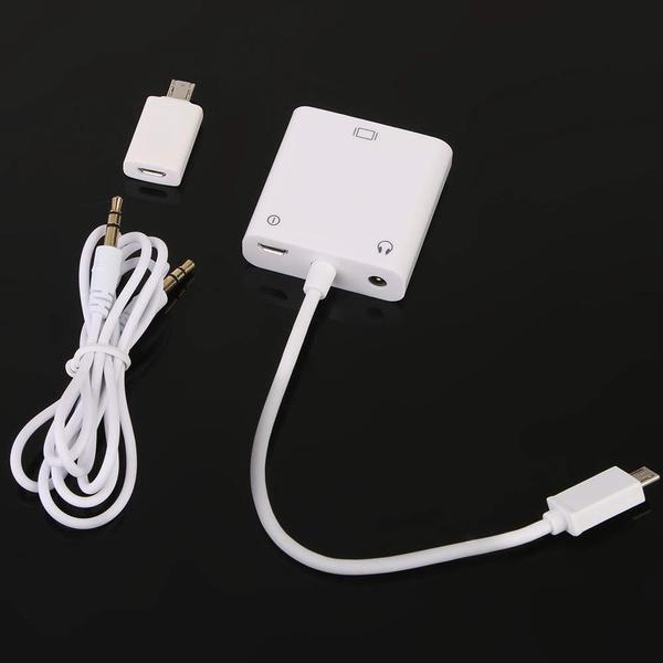 microusbadapter, Mobile, vgatomhladapter, usb
