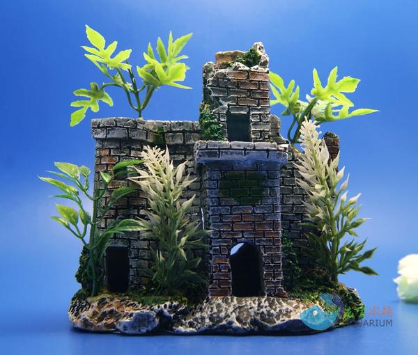 Tank, Tree, fish, Ornament