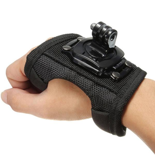 gopro accessories, tripodmountforgopro, gopropalmstrap, 360degreerotation