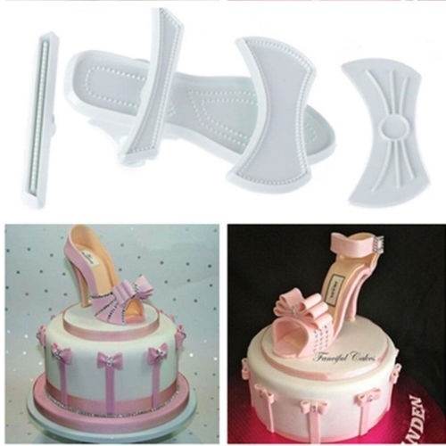 cute, Sandals, Baking, cakecuttermould
