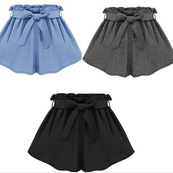 Women Pants, bowknot, Plus Size, Waist