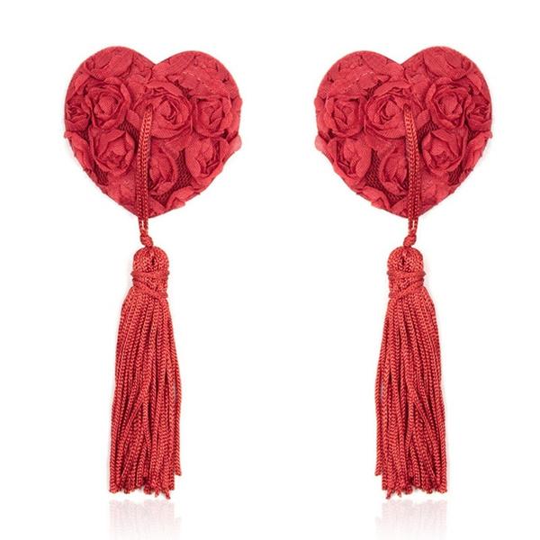 Heart, Tassels, Toy, breastpetal