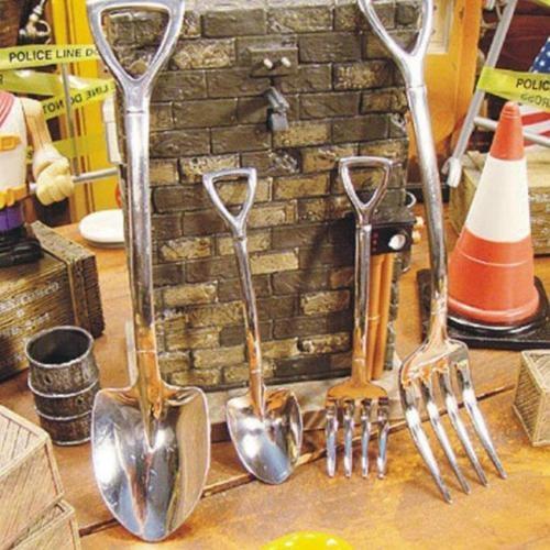 Forks, Steel, Kitchen & Dining, Novelty