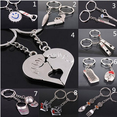 Heart, Fashion, Key Chain, Jewelry