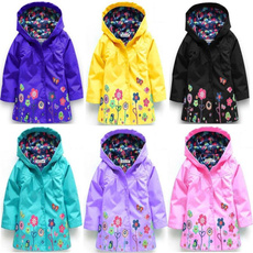 babygirlscoat, hooded, Spring/Autumn, Coat