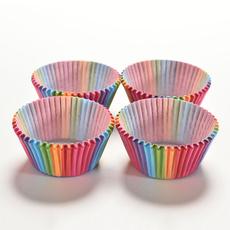 cupcakesupplie, case, papermuffin, rainbow