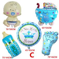 babyshower, Baby Girl, foilballoon, babystroller