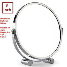 Makeup Mirrors, Steel, Stainless Steel, Stainless