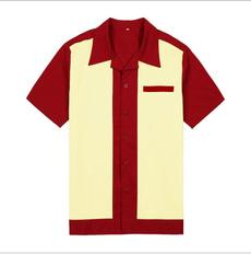 Fashion, clubwear, retrobowlingshirt, Tops