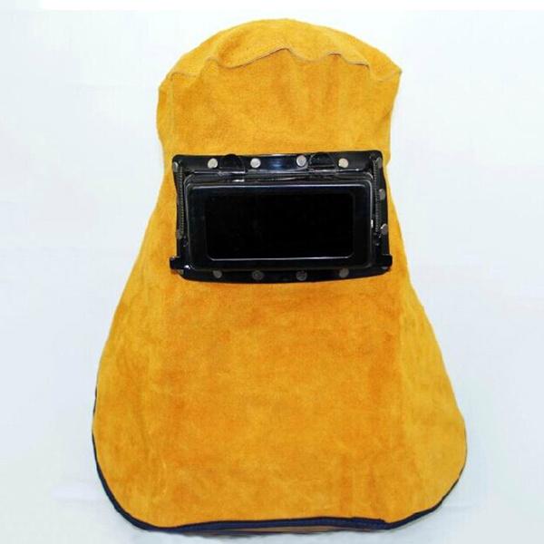 leatherweldinghoodhelmet, Helmet, leatherweldinghelmet, maskwelding