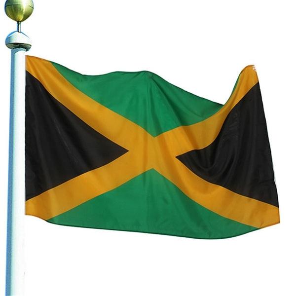 rainbow, Polyester, jamaicanflag, jamaica