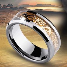 Steel, bandring, wedding ring, Vintage