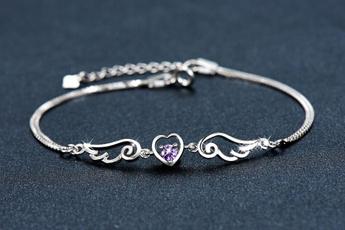 Gifts For Her, Crystal Bracelet, Fashion, Love