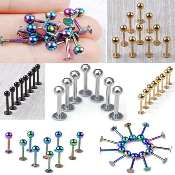 Steel, bodypiercingjewellry, lipchinbarring, Jewelry