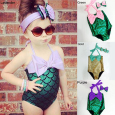 girlsmermaidoutfit, mermaidbikinisuit, Swimming, girlswimsuit