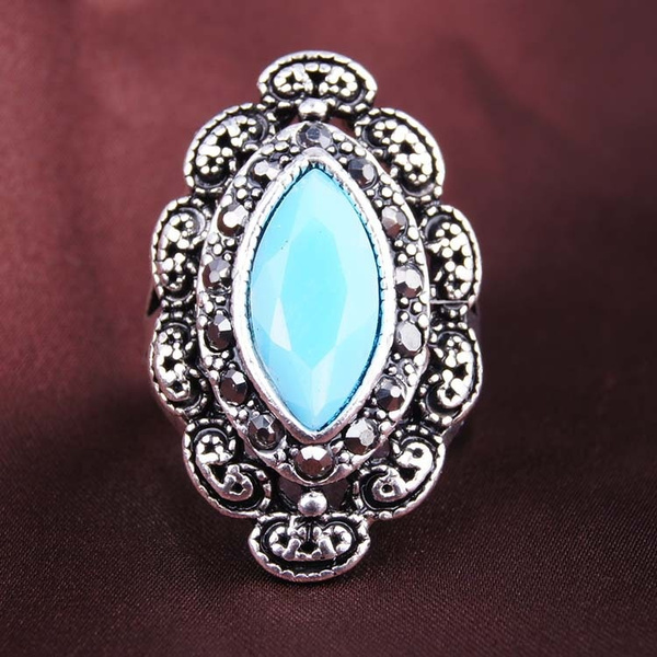 silver plated, Fashion, Jewelry, Silver Ring