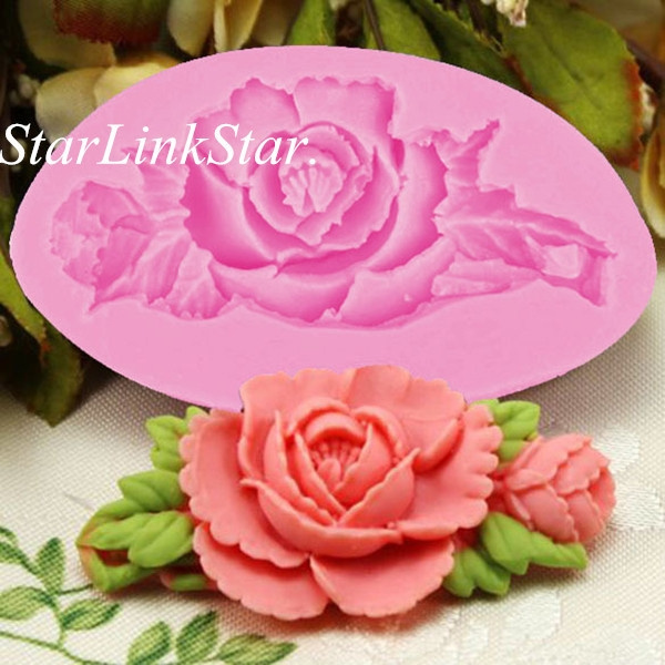 Flowers, Baking, Christmas, Silicone