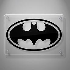 Wall, Batman, Stickers, Window