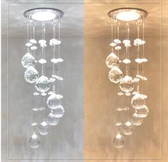Mini, Iluminación, crystal ring, ceilinglamp