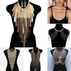 Jewelry Set, Tassels, Jewelry, Chain