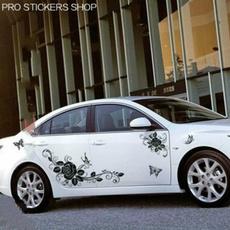 butterfly, Car Sticker, Golf, Garland