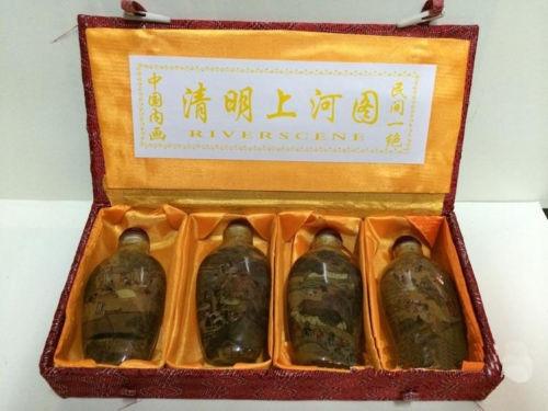 insidepaintingsnuffbottle, Chinese, snuffbottle, metalsnuffbottle