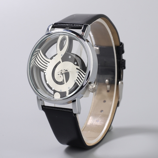 unisex watch, dial, quartz, leather
