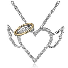 angelwingspendant, Heart, Fashion, Love
