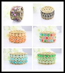 Antique, Crystal Bracelet, Fashion, Jewelry