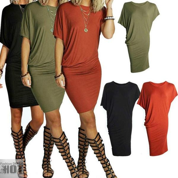 Summer, Plus Size, club dresses, Dress