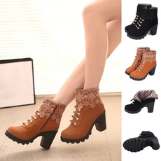 Fashion, Lace, Womens Shoes, leather