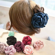 womenhairpin, flowerhairclip, Head Bands, Cloth