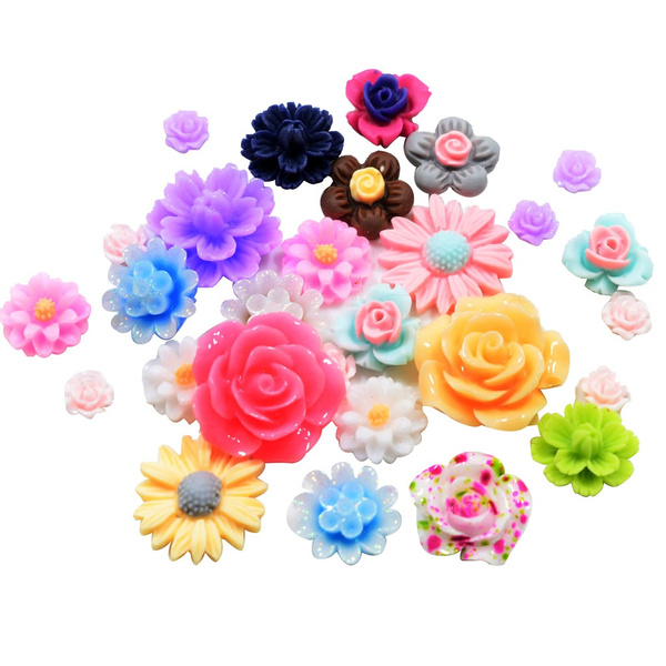 cute, Flowers, Colorful, Rose