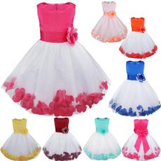 bowknot, petaldres, flowergirldres, Dress