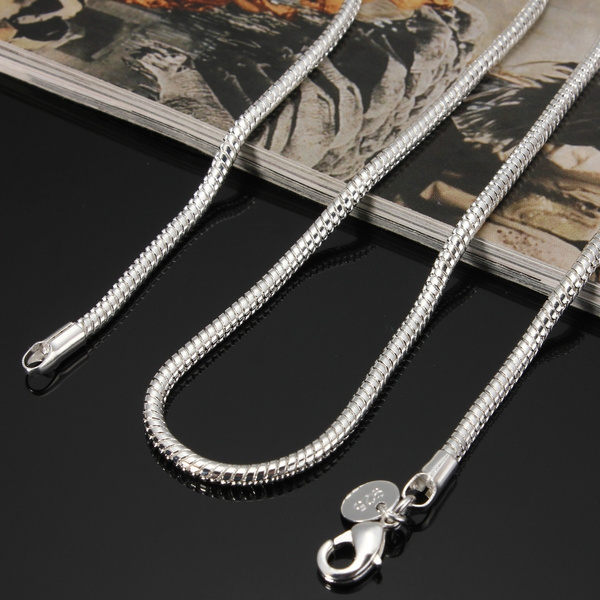 Sterling, Chain Necklace, women39sfashion, Jewelry