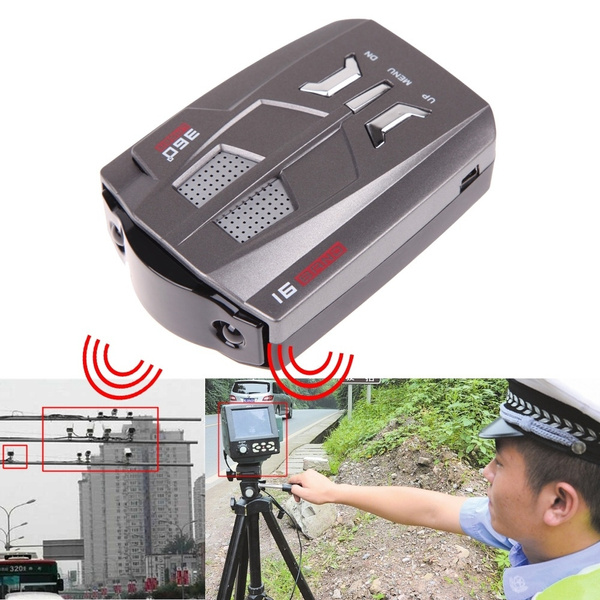 360voice, radardetector, Laser, Gps