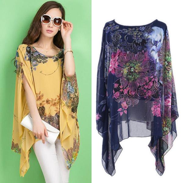 blouse, ladyshirt, Bat, Fashion