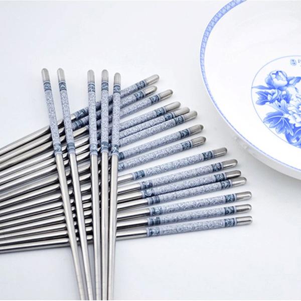 Blues, Steel, Kitchen & Dining, chinesechopstick