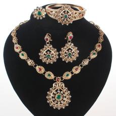 Fashion, Crystal Jewelry, gold, Wedding