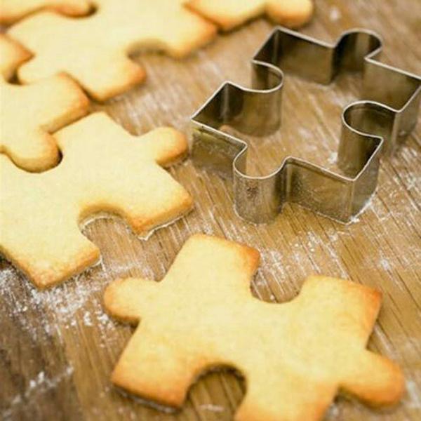 Steel, puzzleshape, cookiesmold, Stainless Steel
