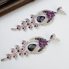 charmearring, Fashion, Dangle Earring, Crystal
