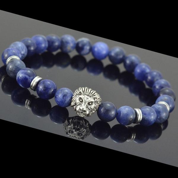 Charm Bracelet, Blues, Head, Fashion