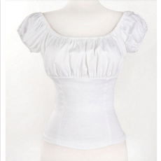blouse, Fashion, white tops, Shirt