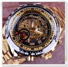 watchformen, automatischeuhr, Skeleton, orologio