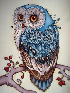 Owl, hometextilehandicraftsneedlework, Jewelry, Gifts